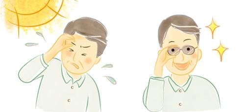 眼疾患・眼病予防におすすめのメガネ・サングラス
