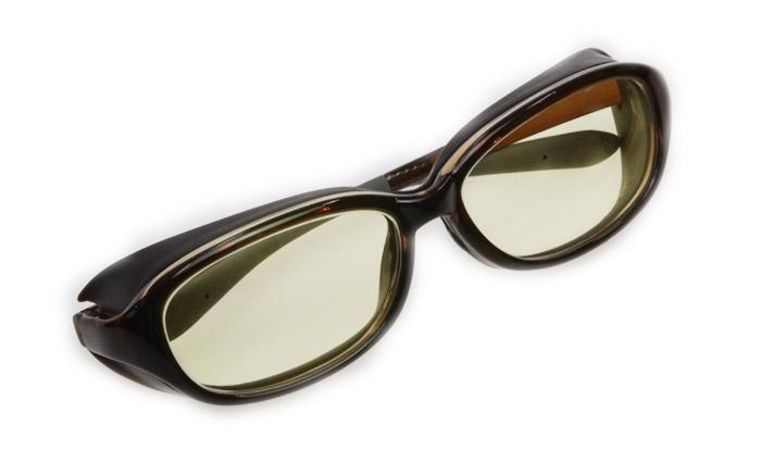 メガネ周辺からの光をカット ロービジョンケア アイキュア+HYDEレンズセット