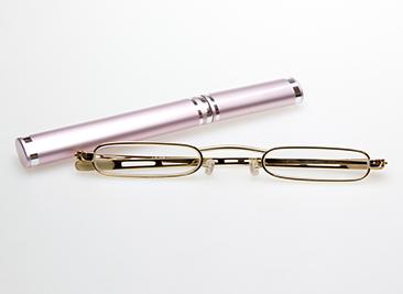 おしゃれ老眼鏡・シニアグラス スレンダーアイズ チューブ
