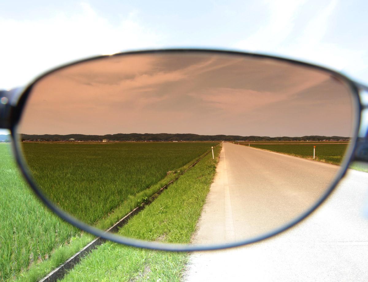 田園風景での見え方